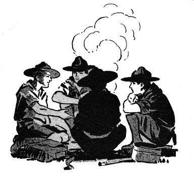 Boy Scouts Campfire Clip Art